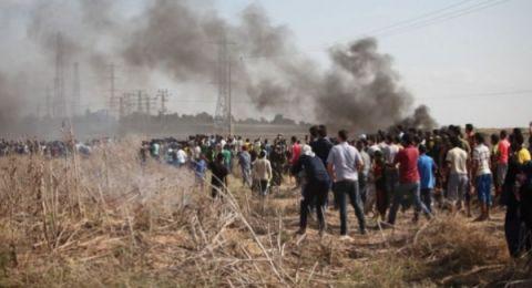 بينهم مسعف.. إصابة 37 مواطناً في جمعة