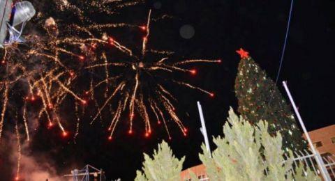 الناصرة: اليوم إضاءة شجرة الميلاد وإغلاق لبعض الشوارع