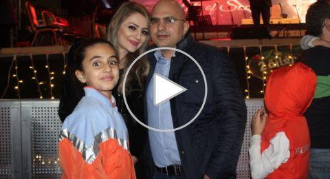 الناصرة: اضاءة شجرة الميلاد للّاتين