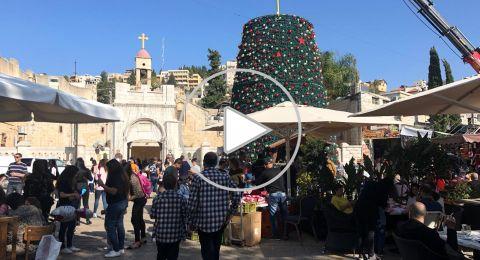 هذا المساء: الناصرة تستعد لإستقبال الميلاد