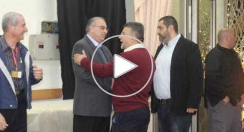 نواب عرب يشاركون في اضاءة الشجرة في الناصرة: يحق لشعبنا أن يفرح