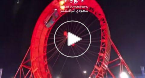 """بريطاني يدخل  """"جينيس"""" ويحطم رقم قياسي عالمي في موسم الرياض"""
