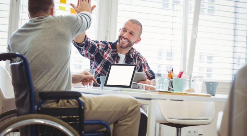 صندوق ومؤسسة مسيرة: 2020 دمج الأشخاص مع الإعاقة في سوق العمل