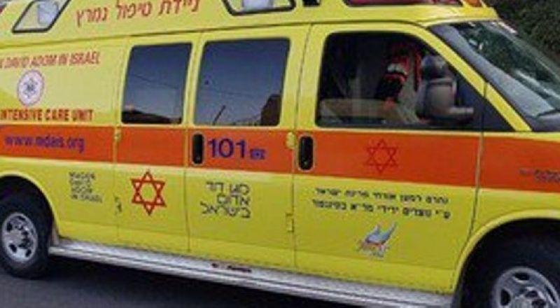 رهط: إصابة طفلة اثر سقوطها من مكان مرتفع