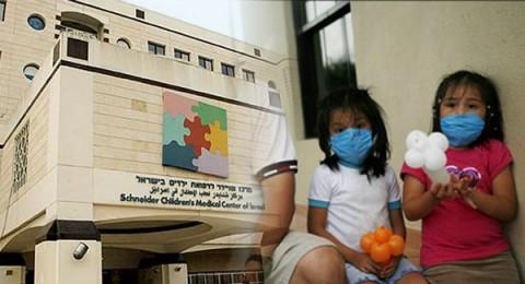 طفلة من ايلات تصارع الموت نتيجة إصابتها بأنفلونزا الخنازير