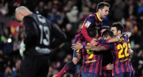 10 لاعبين من برشلونة يخضعون لاختبار كشف المنشطات