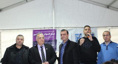 وحدة الشباب في بلدية الناصرة تستضيف فعاليات خيمة الحوار والتسامح