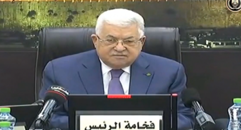 أبو مازن: لن نوافق على انضمام سكان المثلث الى فلسطين وسنوقف التنسيق الأمني