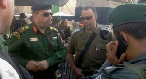 الأمن الفلسطيني يبلغ