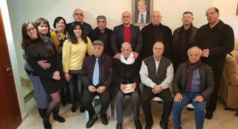 احياء الذكرى السنوية الرابعة لرحيل د. جريس سعد خوري والاعلان عن تشكيل هيئة تخلد ذكراه ورسالة اللقاء
