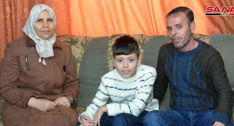 الطفل السوري المعجزة
