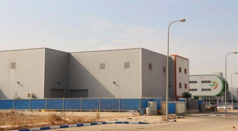 التطوير مستمر في الجلبوع: مصنعان جديدان في المنطقة الصناعية