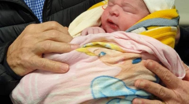 ولادة ميلاد وليد دقة، طفلة النطفة المهربة