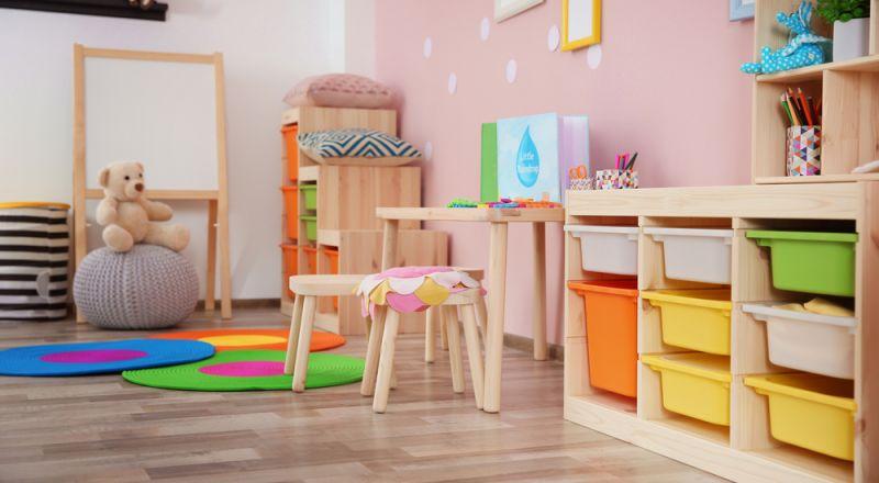 أحدث الألوان لغرف الأطفال 2020