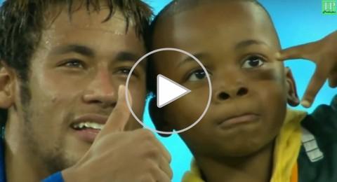 لفتة إنسانية من نيمار تجاه طفل جنوب أفريقي تحصد مليون مشاهدة