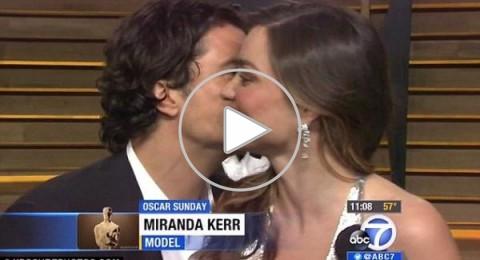 إطلالة ميراندا كير المثيرة تدفع زوجها السابق لمقاطعة مقابلة لها
