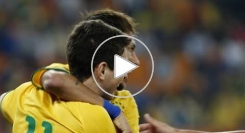 ثلاثية نيمار تقود البرازيل للفوز على جنوب افريقيا