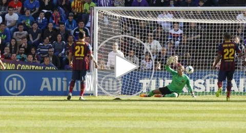 برشلونة يتجرع الهزيمة الرابعة في الدوري على يد بلد الوليد