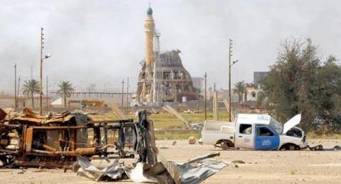 عشرات الشهداء والجرحى بتفجير ارهابي في تكريت العراقية