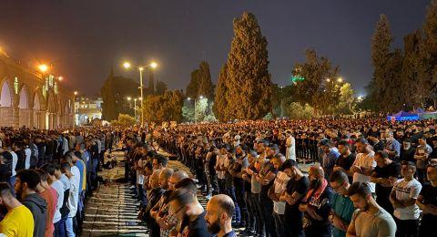 مباشر: آلاف الفلسطينيين في