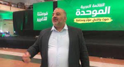 لجتة حي الشيخ جراج ترفض استقبال منصور عباس