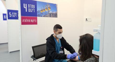 اختبار الكورونا ما قبل السفر في مستشفى رمبام- سهل، سريع ونتيجته مضمونة
