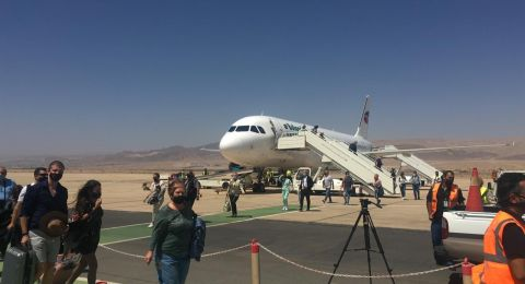 استقبال طائرة تحمل على متنها 180 سائحاً بدعم من هيئة تنشيط السياحة الاردنية