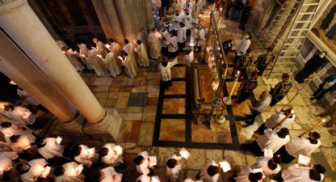الكنائس التي تسير حسب التقويم الشرقي تحتفل بعيد الخضر