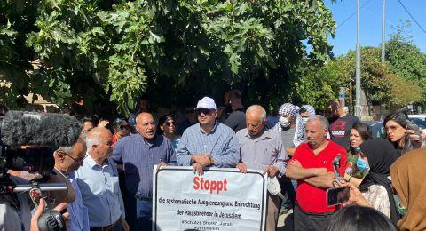 النائب أبو شحادة في رسالة لأعضاء البرلمان الأوروبي: أوقفوا أوامر الأخلاء ضد 28 عائلة فلسطينيّة في الشيخ جراح