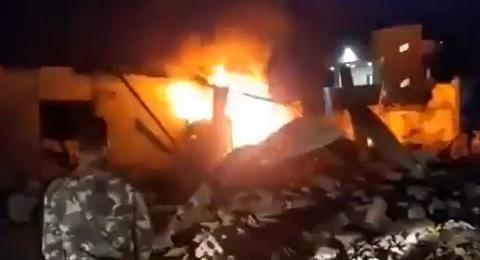 شهيد و 6 إصابات جراء عدوان اسرائيلي على سوريا