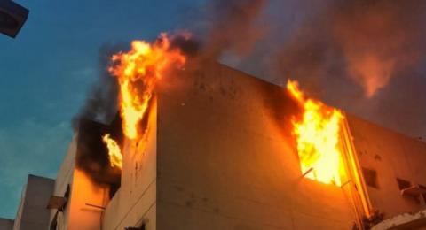 وفاة 8 فلسطينيين بينهم سيدة و5 من بناتها بحريق في جدة
