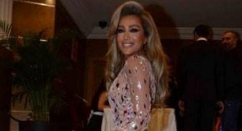 مايا دياب مثيرة دائما ً..وهذه المرة في فستان شفاف!