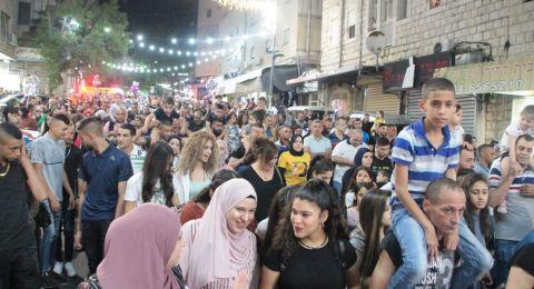 المئات في مسيرة عيد الفطر في الناصرة
