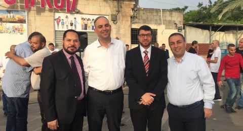 اللد: عشرات في صلاة العيد بحضور رئيس البلدية