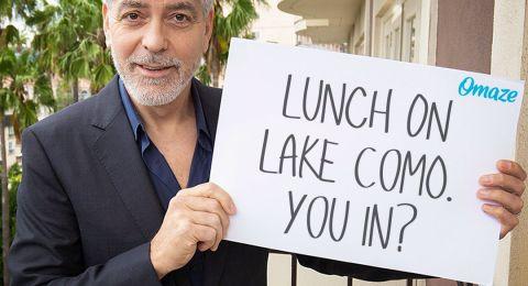 جورج كلوني يدعوكم لتناول الغداء معه ولكن بشرط