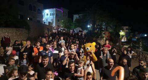 طمرة الزعبية تستقبل العيد بمسيرة مميزة