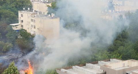 5 حرائق بمستوطنات غلاف قطاع غزة بفعل بالونات حارقة