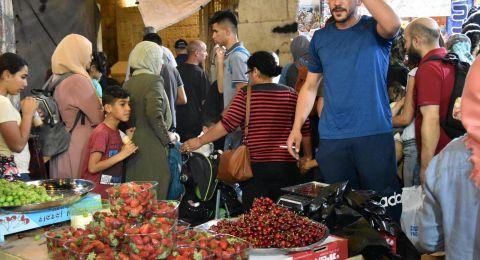 أسواق القدس: حركة تجارية نشطة عشية عيد الفطر