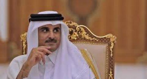 أمير قطر يلتقي وفدا من حركة حما