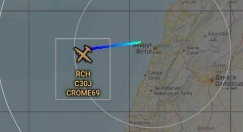هل هبطت طائرة أقلعت من تل أبيب في بيروت؟