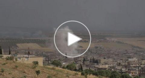الجيش السوري يستهدف المسلحين في ريفي إدلب وحماة