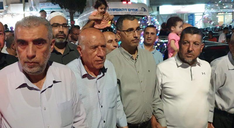 المئات في مسيرة الفطر في كفركنا