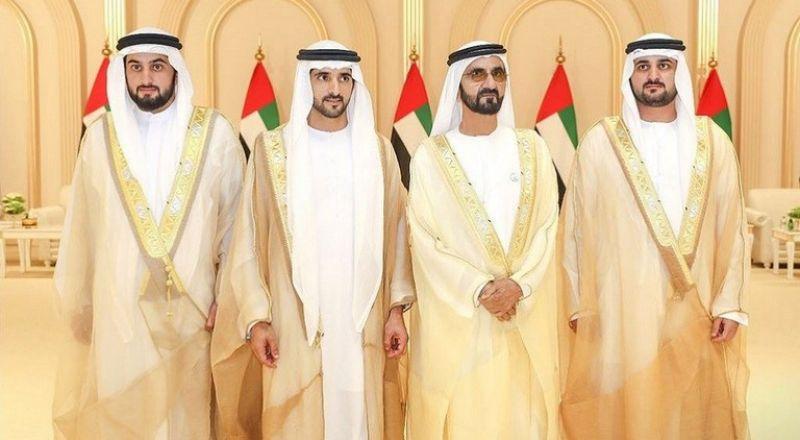 مشاهد من أفراح أبناء حاكم دبي!
