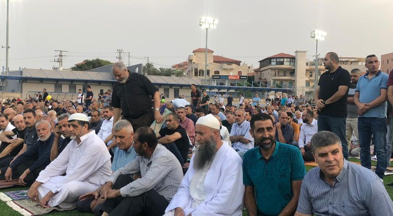 ام الفحم: مشاركة واسعة في صلاة العيد