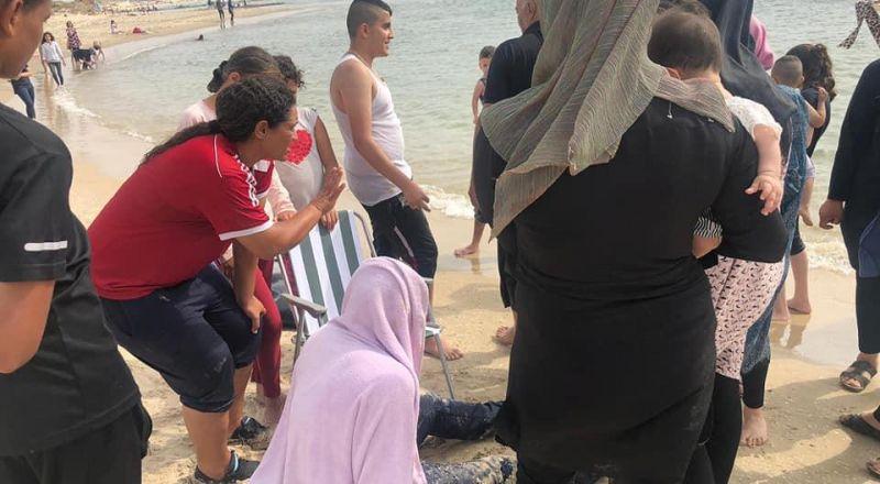 جسر الزرقا: الرياضية حمامة جربان تنقذ عائلة فحماوية من الغرق