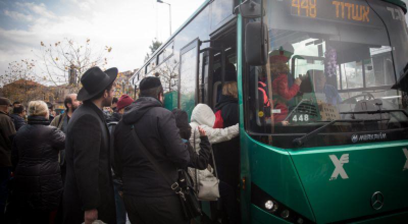 الهستدروت ولجنة العاملين في المواصلات العامة تقرران تزويد السائقين بالغاز المسيل للدموع
