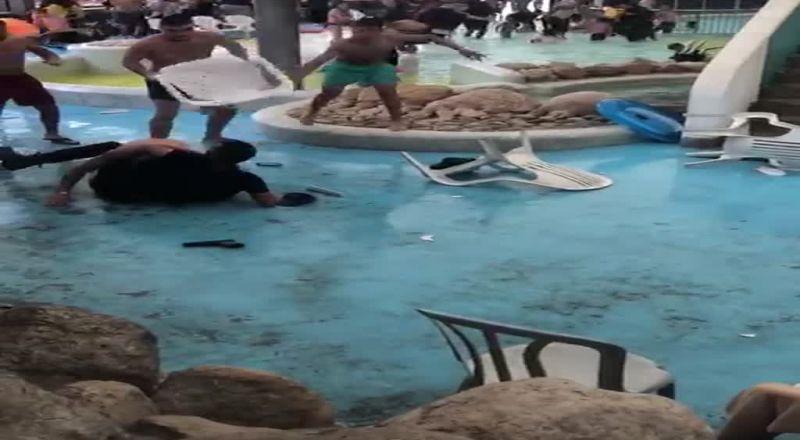 شاهد :شجارات اخرى من مسلسل شجارات عيد الفطر واعتقال مشتبه
