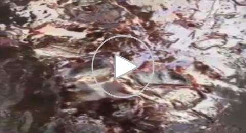 فيديو غير مسبوق للحجر الأسود الخاص بالكعبة المشرفة