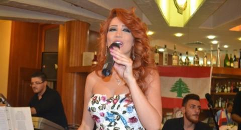 ميريام عطا الله تحتفل بعيد الجيش اللبناني