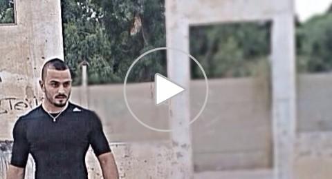 محمد ابراهيم زعبي .. فنّان ورياضي بطريقة
